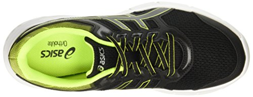 Asics Gel-Excite 5, Chaussures de Running Homme Multicolore (Blacksafety Yellowblack)