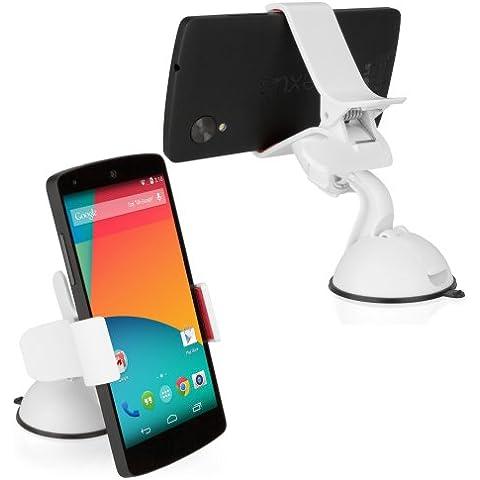 O2 XDA BoxWave HandiGrip Pocket PC Soporte de Coche para teléfono móvil - O2 XDA Pocket PC teléfono de coche con ventosa soporte, totalmente ajustable, 360 Degree giratorio de mordaza con ventosa para luna de soporte de coche para Smartphones