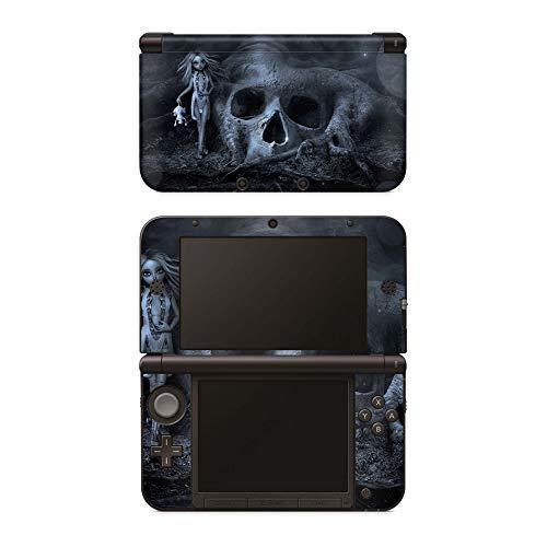 Skins4u Aufkleber Design Schutzfolie Vinyl Skin kompatibel mit Nintendo NEW 3DS XL Skull Tree