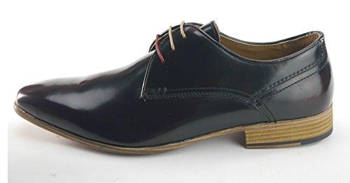 Frank James , Chaussures de ville à lacets pour homme sang de bœuf