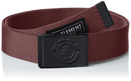 Element Herren Beyond Gürtel, Napa red, One Size -
