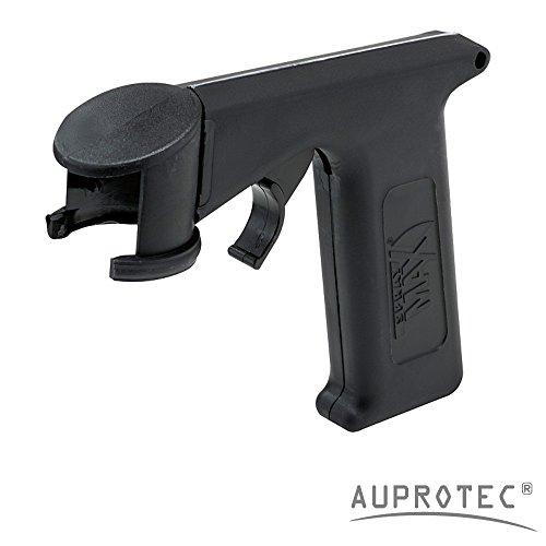 Auprotec Standard Impugnatura a pistola per aerosol spray, lattine, Lacquer supporto per personal