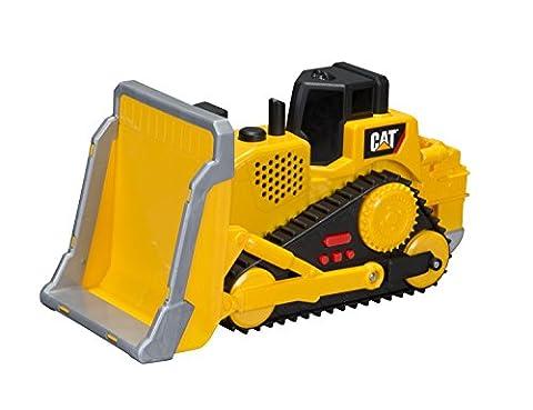 Jouet Chenille State Big Builder Machines 34622Jouet Bulldozer Mobile avec effets de lumière/son