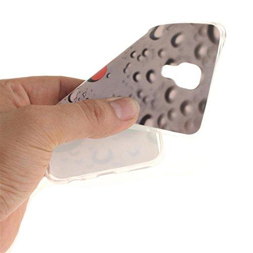 """iPhone 6 Coque, iPhone 6S Étui Cover pour iPhone 6s 4.7 """" [Cartoon 3D Oreilles de porc Rose] Gel TPU Shell iPhone 6 Case (4.7"""") Résistant à la poussière Scratch et ring Support de téléphone bleu COLOR-9"""