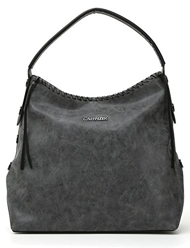 CafèNoir LBN003 Sac Shopper Femme BLACK TU