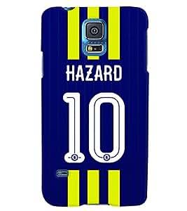 PRINTVISA Football Hazard Case Cover for Samsung Galaxy S5