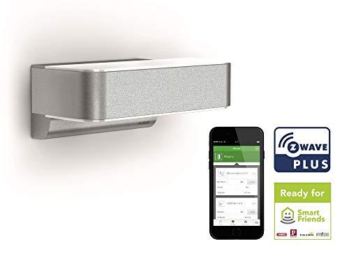 Steinel Smart Home LED Außenleuchte L 810 iHF Z-Wave, Smart Friends-System, 12.5 W, 160° Sensor, Haussteuerung