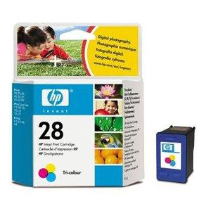 Preisvergleich Produktbild HP 28 Druckerpatrone cyan/magenta/gelb Original Tintenpatrone , Foil Paket
