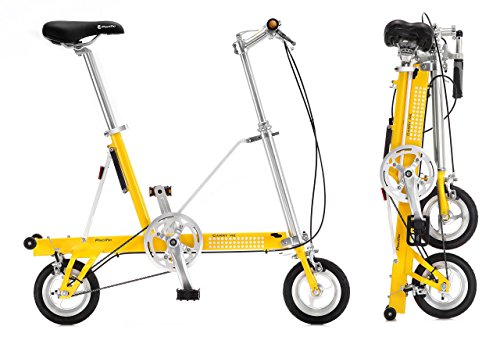 CarryMe SD Gelb • 8,2 kg, Faltrad / Klapprad, ohne...