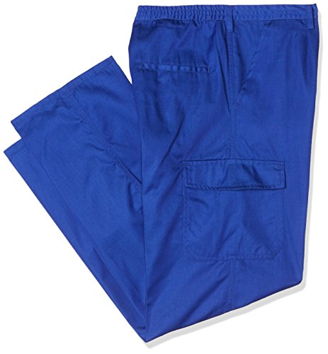 Wolfpack 15021135 - Pantalon de trabajo, talla 52, azul
