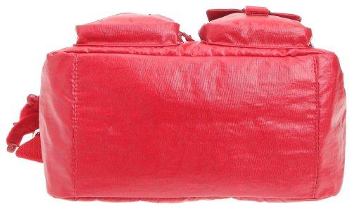 Kipling DEFEA K13636, Borsa a tracolla donna 33x24x19 cm Rosso (Rot/Lacquer Red)