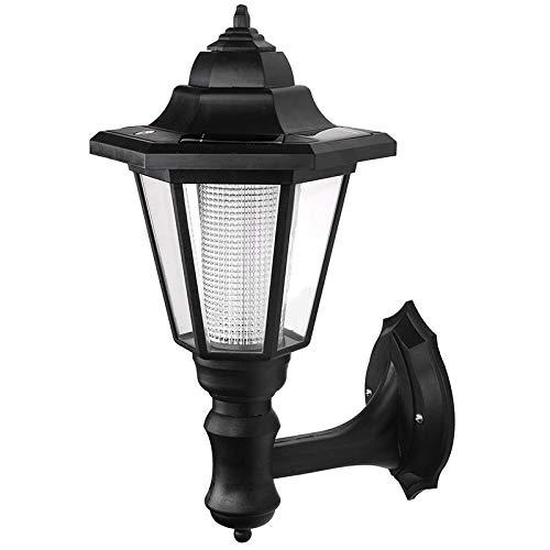 YUCH Lampe Solaire Extérieure Lampe Murale Lampe Murale Lampe De Clôture Lampe De Jardin Led