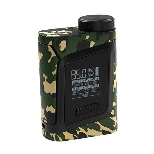 85w Kompakte (Riccardo AL85 Box MOD (85 Watt, SMOK e-Zigarette - Akkuträger) camouflage-schwarz, 1 Stück)