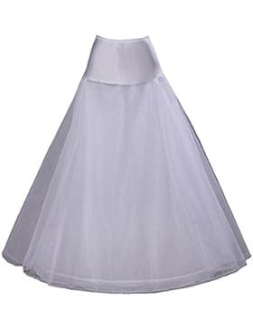 FNKSCRAFT enagua de la boda accesorios de la boda Enaguas Falda paseo nupcial Lycra una línea de vestido de novia...