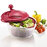 "Best Salad Spinners - Westmark ""Fortuna"" Salat Spinner with Non-Slip Feet, Green Review"