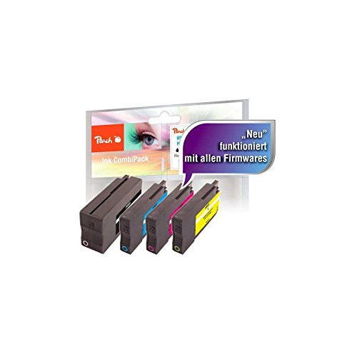 Preisvergleich Produktbild Peach Spar Pack Tintenpatronen kompatibel zu HP No. 950, No. 951