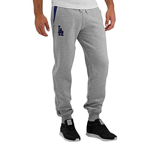 New Era Ne97046Fa16 Mlb Track Losdod - Pantaloni da sport-Linea Los Angeles Dodgers da Uomo, colore Grigio, taglia M