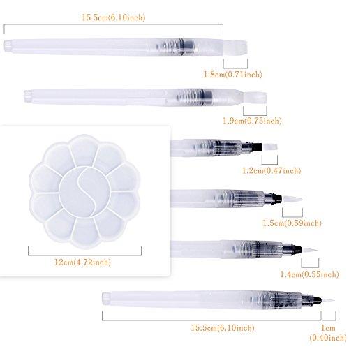 Zoom IMG-2 pennelli ad acqua dighealth acquerello