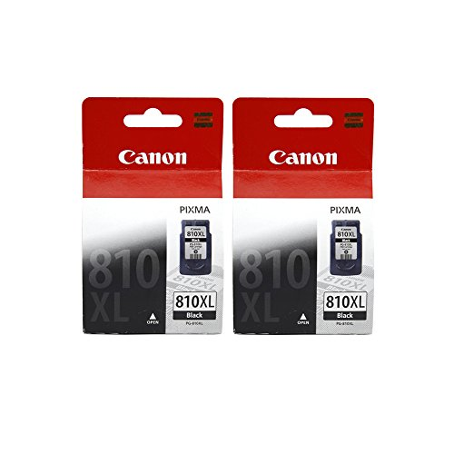 Canon Combo of 2 PG 810XL Ink Cartridge (Black)  available at amazon for Rs.2999