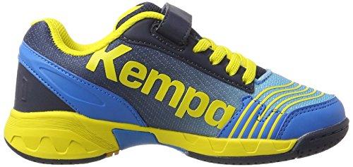 Kempa Unisex-Kinder Attack Derby Schnürhalbschuhe Blau (06)