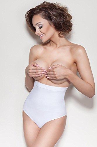 Mitex Elite IV Miederslip Für Damen, Shapewear, Bauch-Weg-Effekt, Top Qualität, EU Weiß