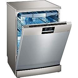 Lave vaisselle Siemens SN278I36TE - Lave vaisselle 60 cm - Classe A+++ / 42 decibels - 13 couverts - Inox bandeau : Inox - Tiroir a couvert - Pose libre