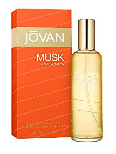 Jovan Musk Woman 96 ml Vapo Concentree, 1er Pack (1 x 96 ml) -