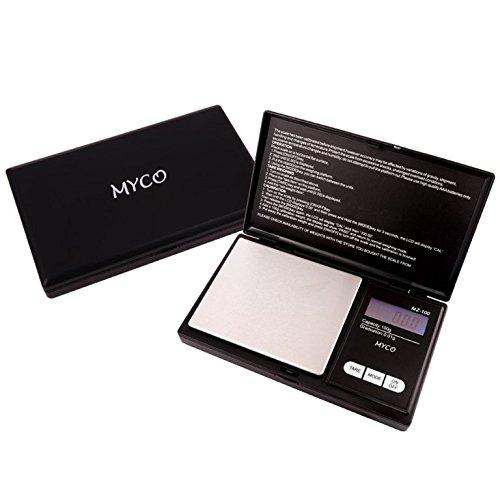 """Myco Swivel Bather Badewannensitz mit """"mz-100"""" Digitale Skala mit Staffelung der 0,01g in schwarz Farbe–von Trendz"""