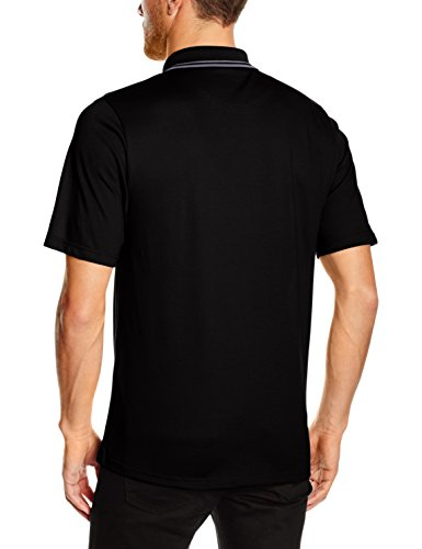 Trigema Herren Poloshirt Schwarz (Schwarz 008)