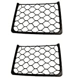 2 x Elasticated Storage Magazine Net Rack For Caravan Motorhome Boat Camper Kitcar