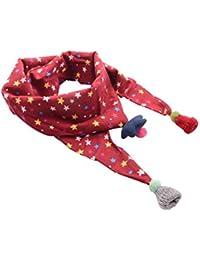 Ruikey Bebé Pañuelos de Cuello Bufanda del Invierno del Otoño de los Niños Bufanda pequeña de la impresión de la estrella