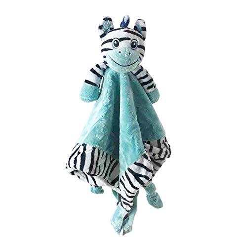 Weiches Plüsch-Spielzeug Zebra-Schnuller-beschwichtigendes Tuch für Baby und Kinder (Zebra-plüsch-spielzeug)