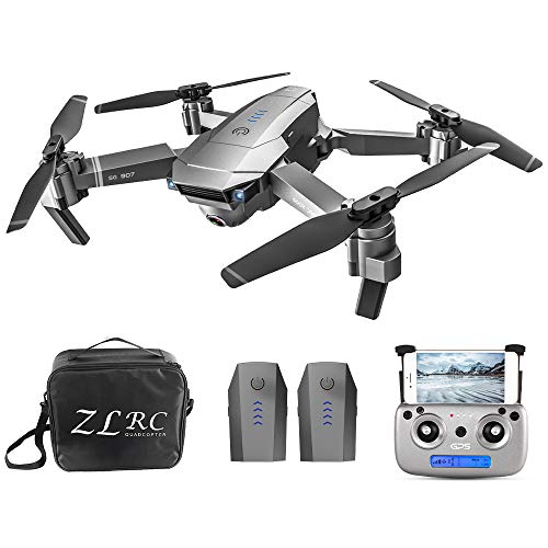 Mobiliarbus RC Drone SG907 5G WiFi 4K cámara Dual