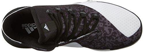 Adidas Performance Licht Em Up 2 Basketball-Schuhe, weiÃ? / schwarz / Onix Grau, 6,5 M Us White/Black/Onix Grey