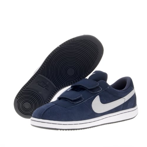 Nike - Nike Brutez Plus (PS) Scarpe Bambino Blu Pelle Strappi 535449 - Blu, 31