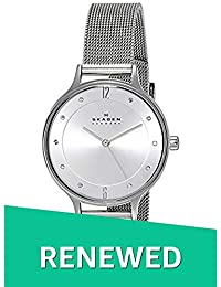 (Renewed) Skagen Anita Analog Silver Dial Womens Watch - SKW2149#CR