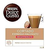 Exclusivo Nescafé Dolce Gusto  Café con Leche, Pack de 3 x 16 Cápsulas - Total: 48 Cápsulas de Café