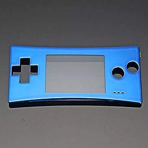GOZAR Ersatz Front Schalen Abdeckung Gehäuseteil Für Nintendo Gameboy Micro Gbm – Blau