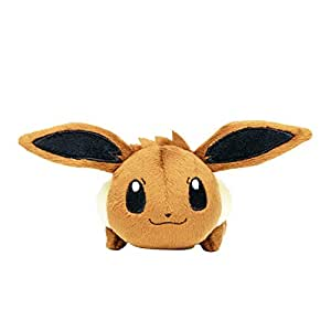 Peluche Pokémon Tsum-Tsum Série1 - Evoli Version Normale - Edition Limité & Exclusive Pokemon Center Tokyo (Import Japon - Produit Officiel)