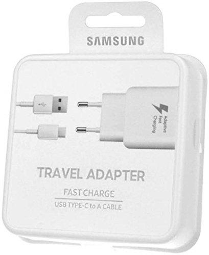 Samsung EP-TA20IWECGIN Type C Fast Charger (White)