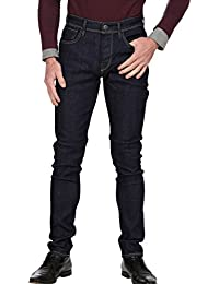 SELECTED Homme Herren Jeans, Männerjeans New One Roy 1360 DarkBlue, Skinny leg, Low Waist