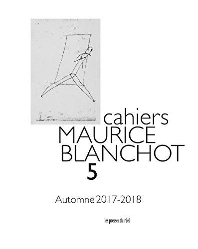 Cahiers Maurice Blanchot N  05