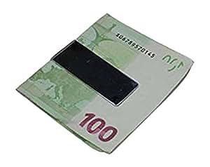 clip de l'argenten acier inoxydable 56 x 21 mm x 5 mm (sans euro)
