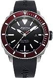 Alpina Herren Analog Automatik Uhr mit Gummi Armband AL-525LBBRG4V6