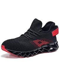 buy popular 9ae8c ab99a Scarpe da Ginnastica Uomo Scarpe da Corsa Scarpe per Correre Running  Sportive Ginnastica Sneakers Scarpe da Casual Basse Traspirante…