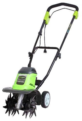 Greenworks 27017 Motozappa elettrica, 950W