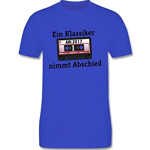Abi & Abschluss - Abi 2017 Ein Klassiker nimmt Abschied - Herren Premium T-Shirt Royalblau