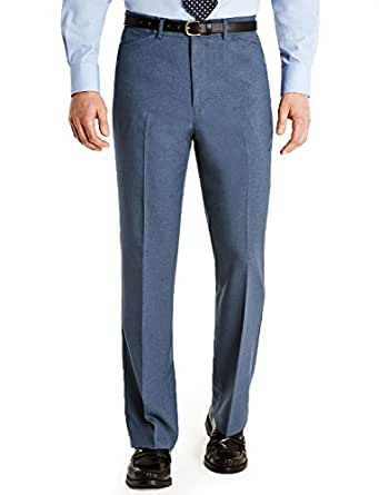 Farah Mens Frogmouth Pocket Formal Smart Trouser Airforce 32W x 27L