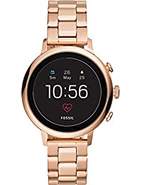 Fossil Damen Digital Smart Watch Armbanduhr mit Edelstahl Armband FTW6018