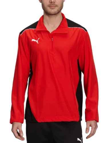 PUMA Herren Jacke Foundation Windbreaker Puma Red/black